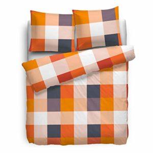 Kuschelige Bettwäsche aus Renforcé - grau 155x220 von Etérea