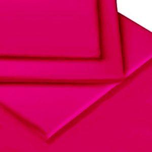 Traumhafte Bettwäsche aus Perkal - rosa 135x200 von Linens Limited