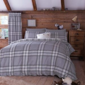 Schöne Bettwäsche aus Baumwolle - grau 200x200 von PCJ SUPPLIES