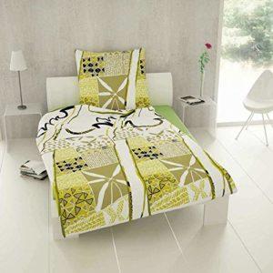 Traumhafte Bettwäsche aus Renforcé - grün 200x200 von Etérea