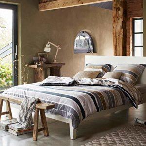 Traumhafte Bettwäsche aus Satin - 200x200 von ESPRIT
