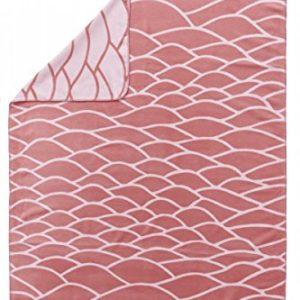 Hübsche Bettwäsche aus Baumwolle - rosa von ESPRIT