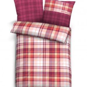 Schöne Bettwäsche aus Satin - rot 200x200 von TOM TAILOR