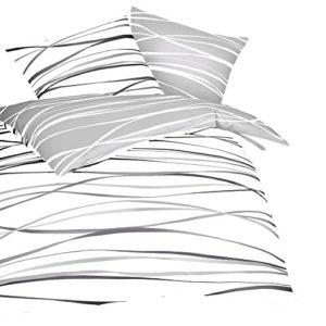 Traumhafte Bettwäsche aus Biber - grau 200x200 von Kaeppel