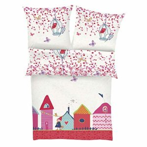 Traumhafte Bettwäsche aus Renforcé - rosa 135x200 von s.Oliver