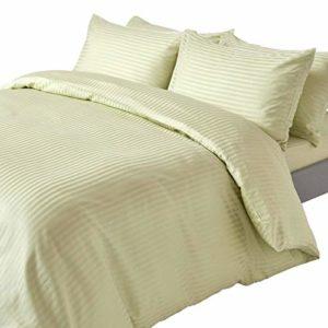 Traumhafte Bettwäsche aus Damast - grün 200x200 von Homescapes