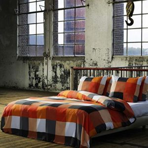 Schöne Bettwäsche aus Renforcé - grau 135x200 von Etérea