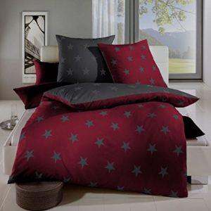 Hübsche Bettwäsche aus Satin - rot 200x200 von Kaeppel