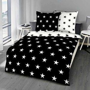 Traumhafte Bettwäsche aus Satin - schwarz 135x200 von Kaeppel